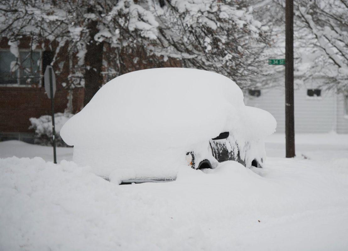 Frio extremo é registrado em várias cidades de New England