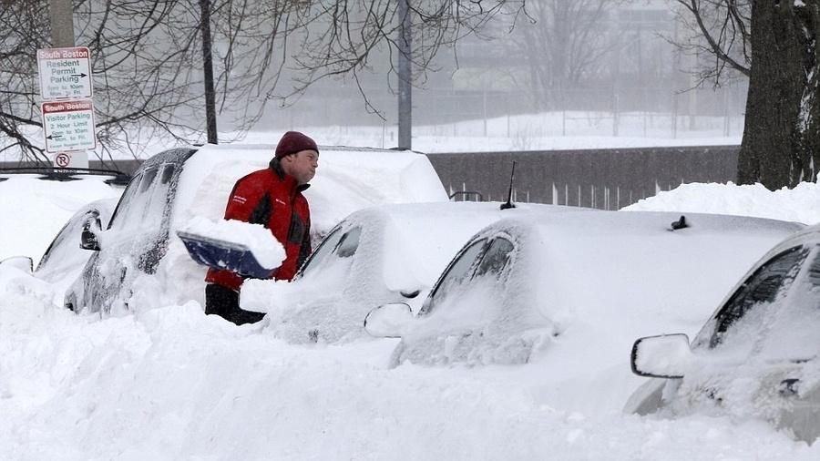 Acredite! Possível Tempestade de Neve prevista para próxima Segunda-Feira