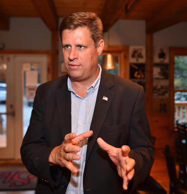 Deputado, candidato a senador em Massachusetts, diz que o estado deveria enviar tropas para a fronteira
