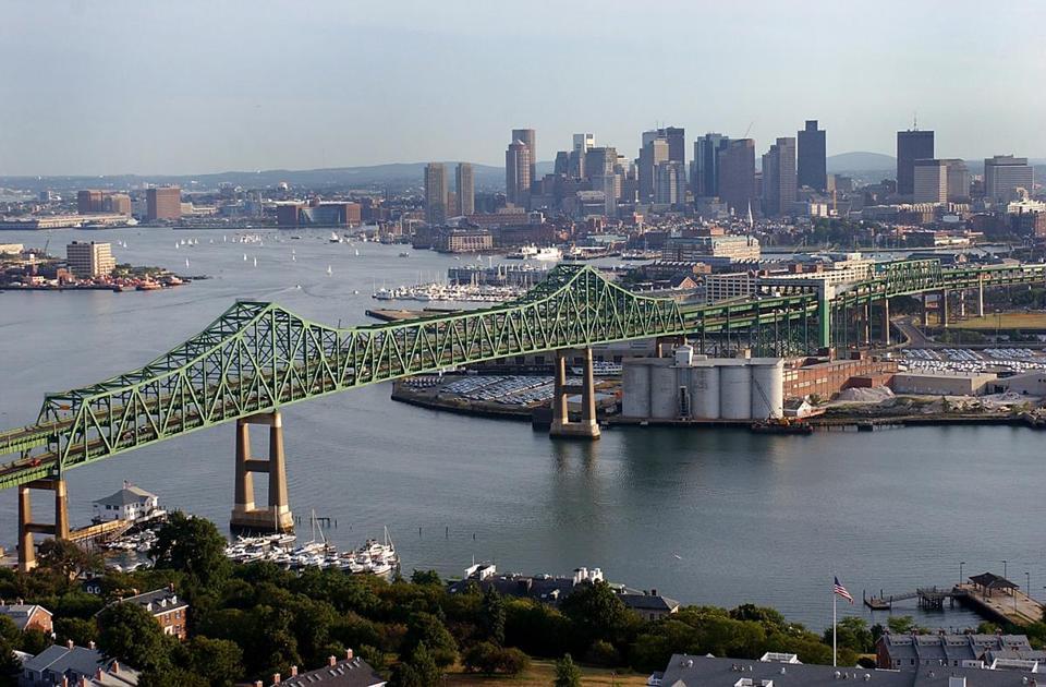 Tobin Bridge continuará aberta durante reforma