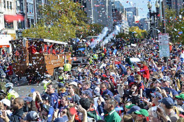Carreata da vitória fechará centro de Boston para o Red Sox