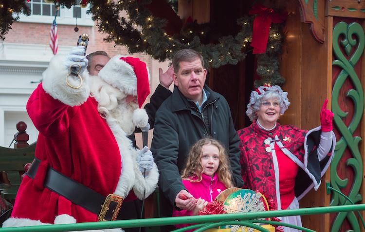 Prefeitura de Boston anuncia programação para o Trolley de Natal
