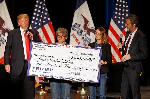 Trump concorda em fechar Fundação sob investigação