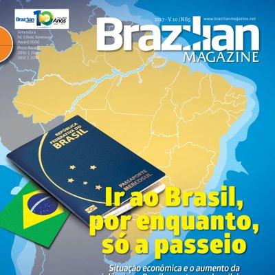 Ir ao Brasil, por enquanto, só à passeio