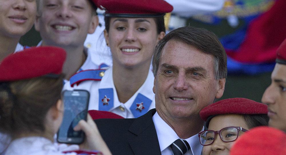 Trump é um 'exemplo a ser seguido', diz Jair Bolsonaro nos EUA