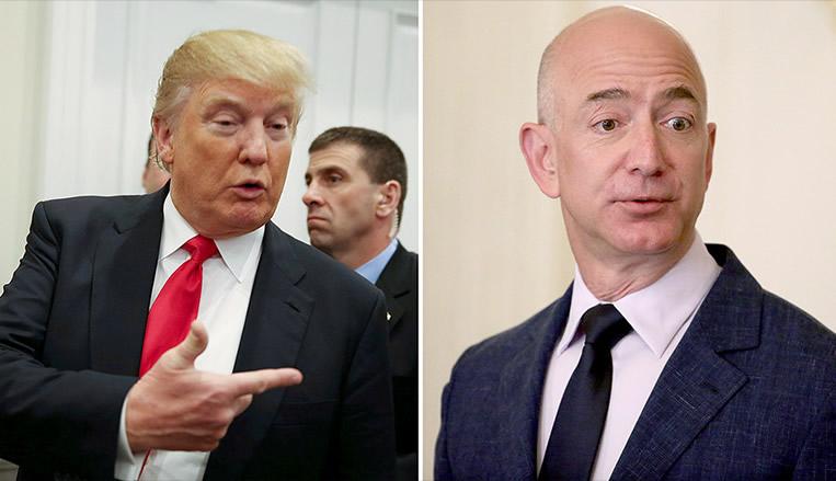 """Trump exige que serviço postal dos EUA cobre """"muito mais"""" da Amazon"""