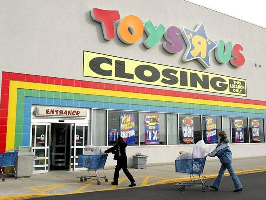 Toys 'R' Us fecha 6 lojas de Massachusetts como parte da reestruturação de falência
