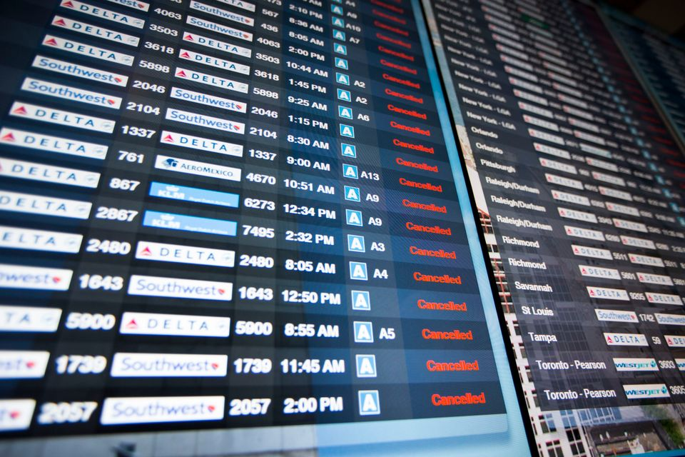 Nordeste dos EUA tem quase 2 mil voos cancelados por nova tempestade