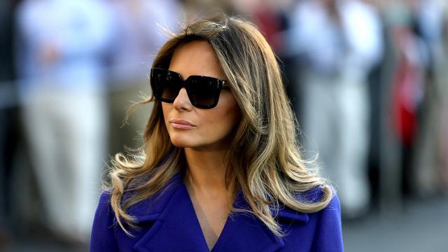 Melania Trump anuncia planos como primeira-dama
