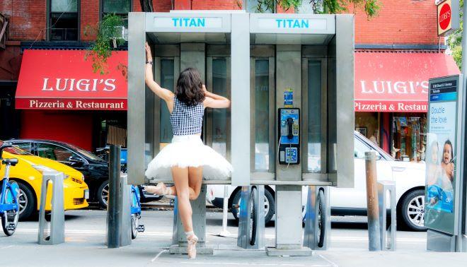 Bailarina brasileira faz sucesso em NY