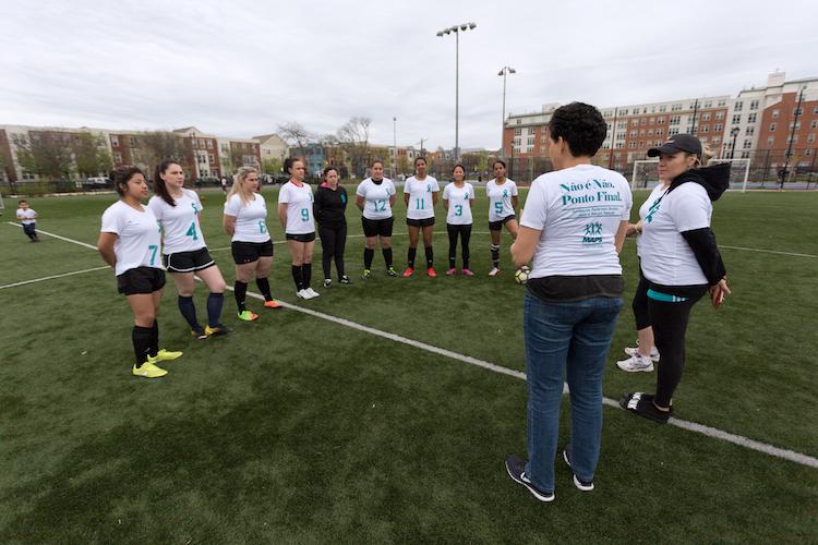Prevenção de abuso sexual chega aos campos de futebol