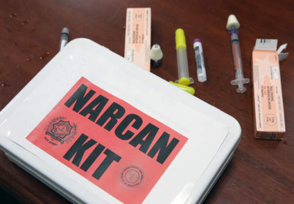 Boston will be installing opioid overdose reversal kits in municipal buildings