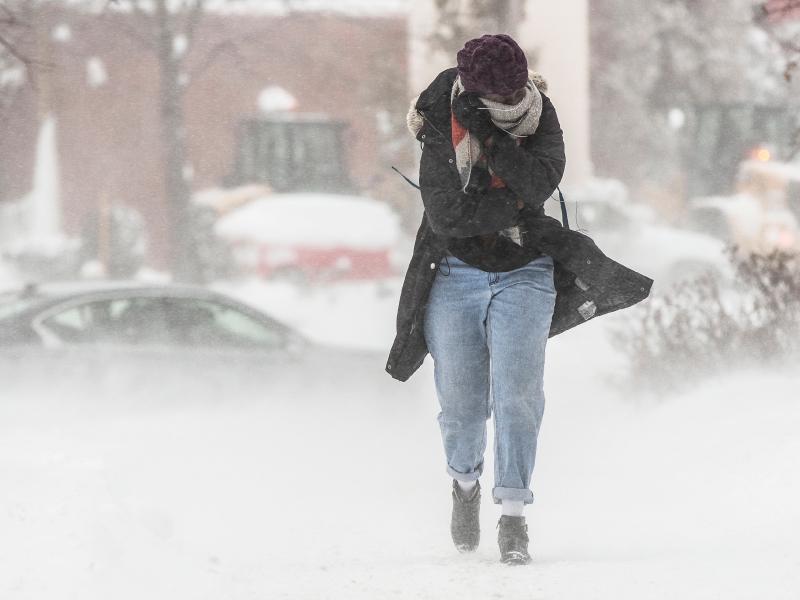 Frio intenso, e fora de época, atingirá os EUA essa semana