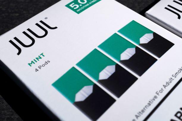 JUUL retira produtos vaping de hortelã do mercado