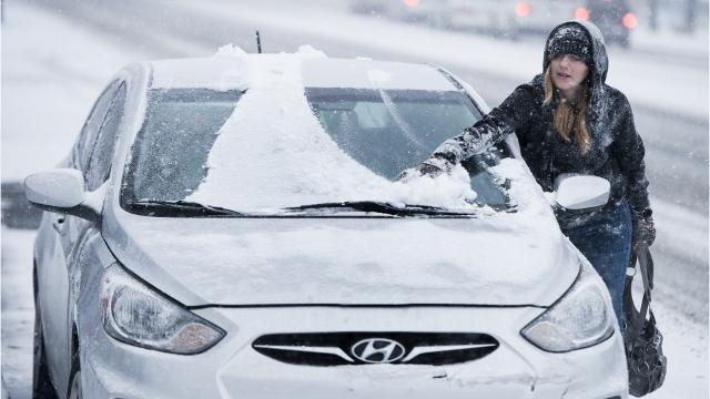 Polícia de Framingham emite multas por não remover neve do carro